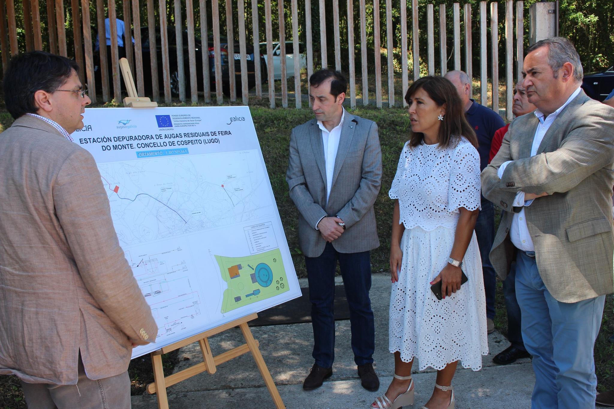 Nova depuradora de augas residuais da feira do monte concello de cospeito - Mediorural xunta es oficina agraria virtual ...
