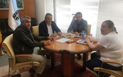 A Xunta, Concello de Cospeito e as asociacións de Muimenta, buscan solucións na conexión por autocar entre Muimenta e Lugo