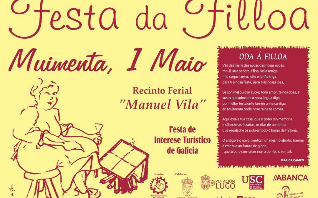 O Martes 1 de Maio Celébrarase a Festa da Filloa en Muimenta, Festa de Interese Turístico de #Galicia