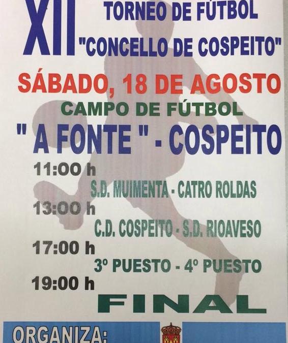 XII Edición do torneo de fútbol Concello de Cospeito