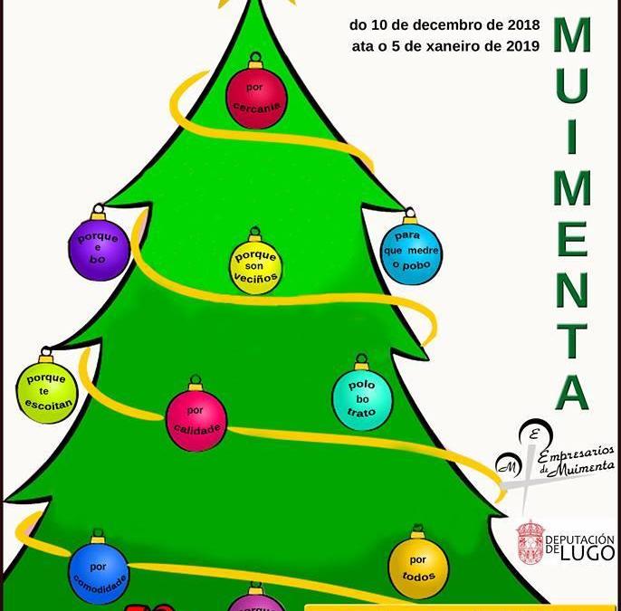 O mercado de Nadal de Muimenta 2018 repartirá 1.300 € en premios