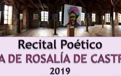 Recital Poético DÍA DE ROSALÍA DE CASTRO 2019 #MuseoDasAvesDeCospeito 24 de Febreiro