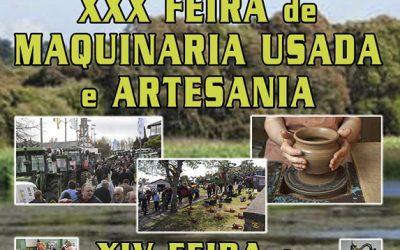 XXX FEIRA DE MAQUINARIA USADA E ARTESANÍA EN COSPEITO 27 E 28 DE ABRIL