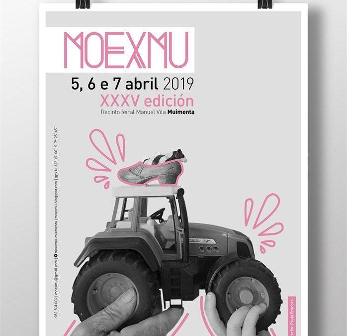 33º Concurso de Gando Frisón MOEXMU 2019  Celebrarase en Muimenta (Cospeito, Lugo) os días 6 e 7 de abril